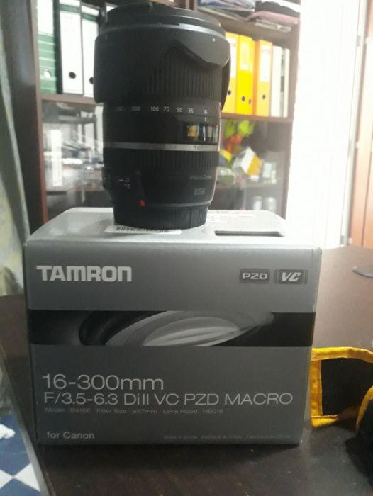 Lente Tamron 16-300mm f/3.5-6.3 Di II VC PZD