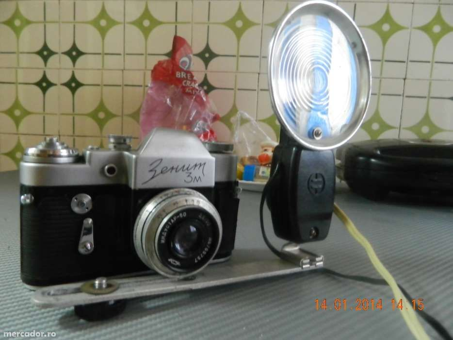 aparat foto de colectie cu blitz