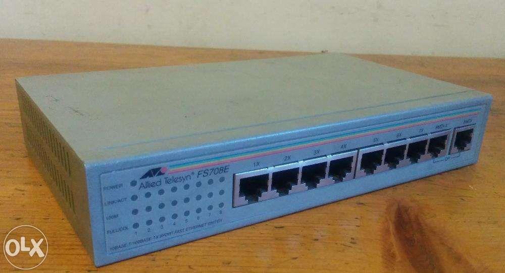 Switch ATI Allied Telesyn FS708