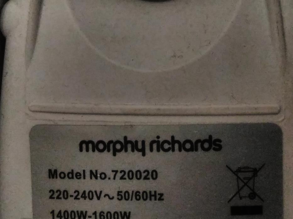 Vand curatator cu aburi Morphy Richards 720020 9-in-1 Steam Cleaner