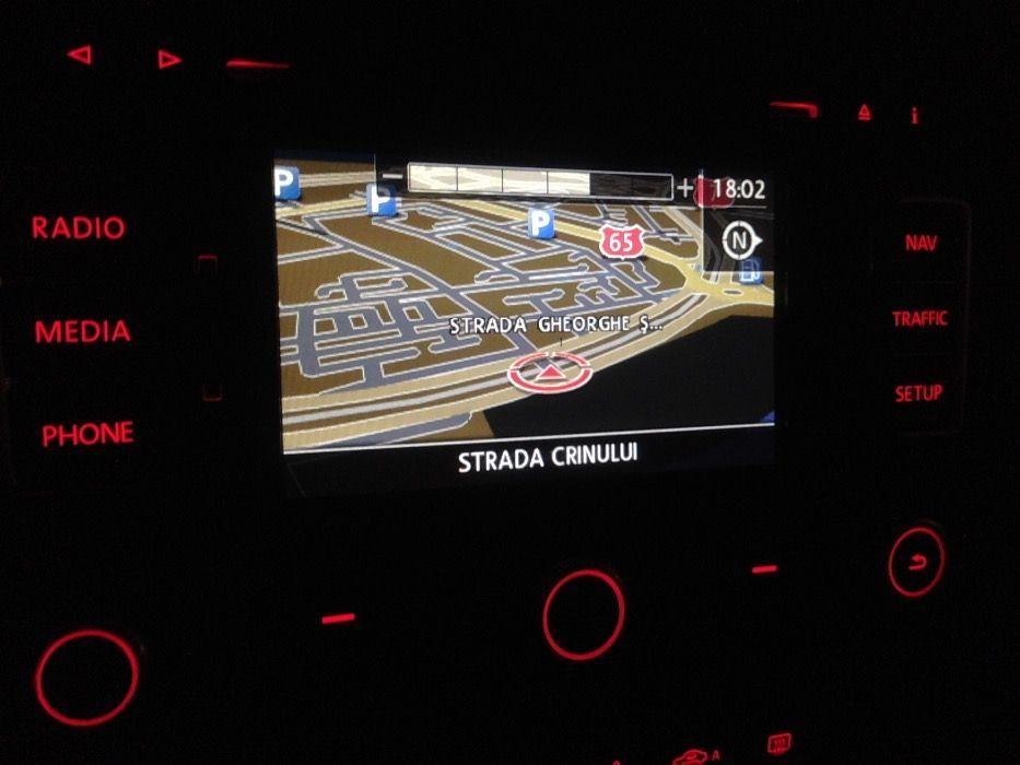 RNS 315 Navigație originala VW cu harta României in detaliu