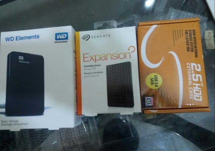 Cases pra HDD de laptop