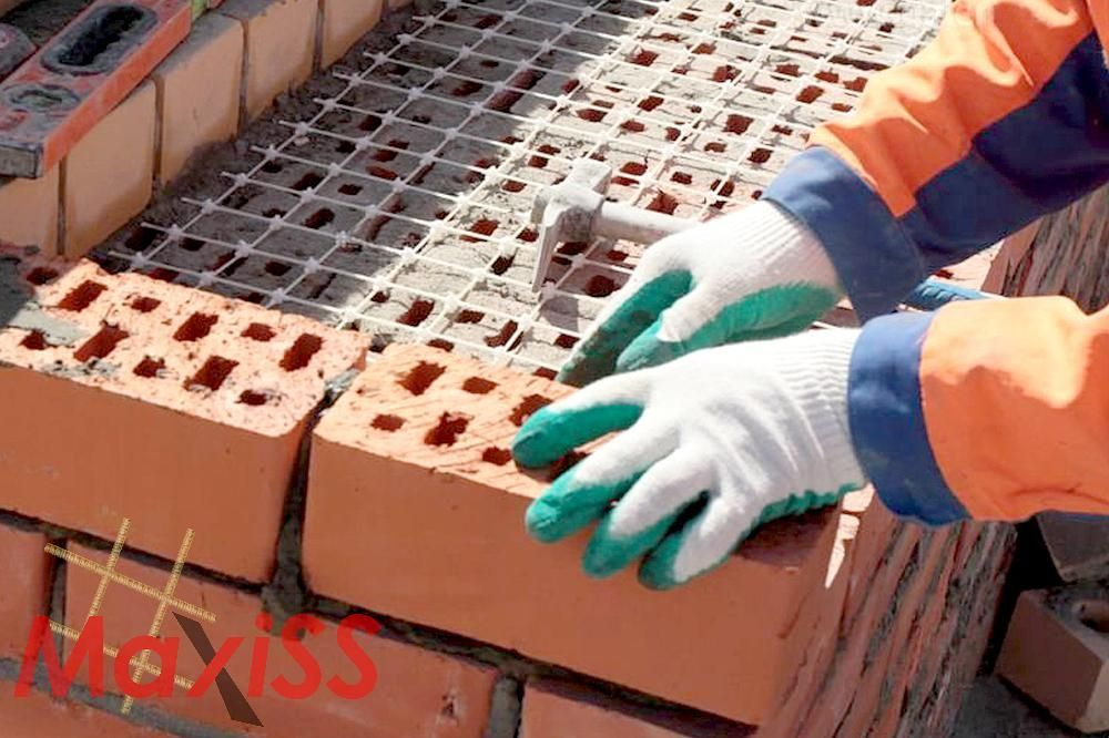 Сетка нержавеющая для кладки кирича, и различных блоков 50х50х2 мм