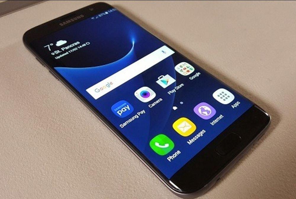 Samsung S7 edge sem arranhões