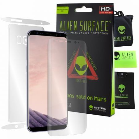 Folie Alien Surface HD,Samsung GALAXY S8 Plus,ecran,spate,laterale