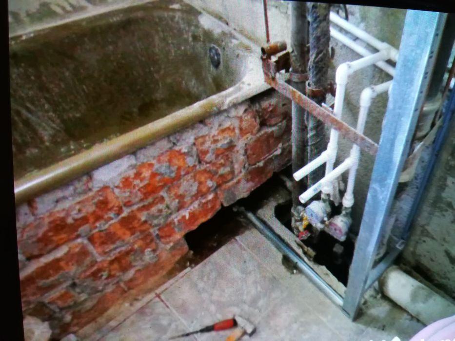 Construcții interioare, instalator sanitar și canalizare