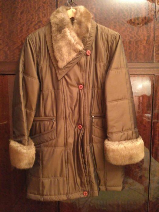 Дамско дълго топло яке/палто/шуба
