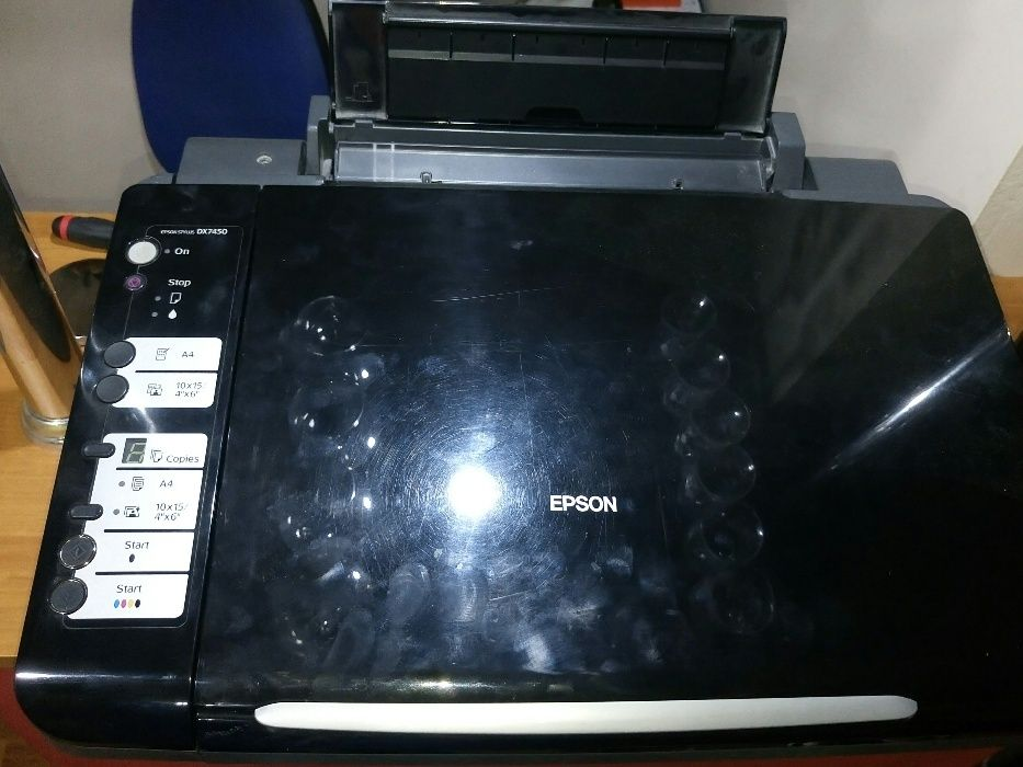 Imprimanta Epson DX7450 defecta