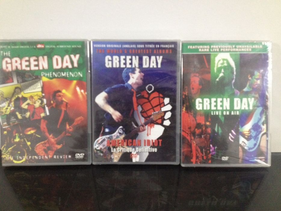 Dvd The Green Day ; Yamaha RX-395RDS ; Telefunken HA680