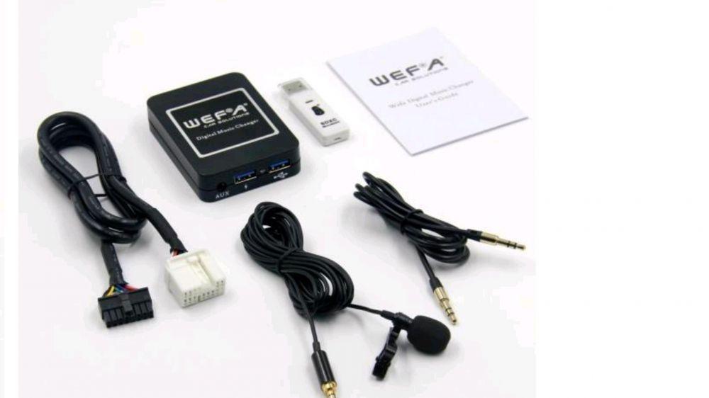 Дигитален CD чейнджър WEFA с вграден BLUETOOTH за Honda/Acura