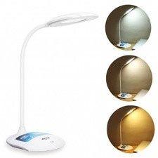 Lampa LED 3 Nuante de Alb Veioza cu Acumulator si Slot USB