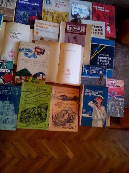 Детски и приключенски книги и научна фантастика