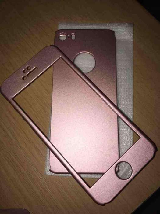 Husa 360,pentru iphone 5,5S,5SE,roz sidef,auriu,rosu si argintiu