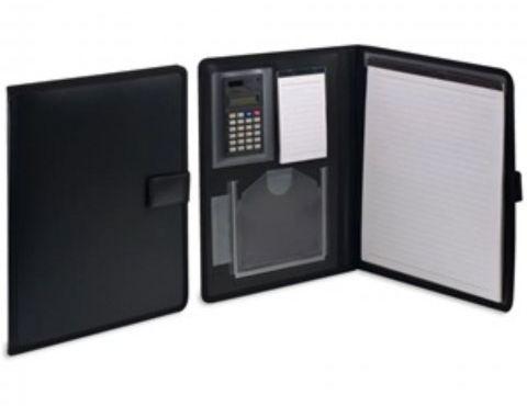 Бизнес/конферентна папка с калкулатор и блокнот