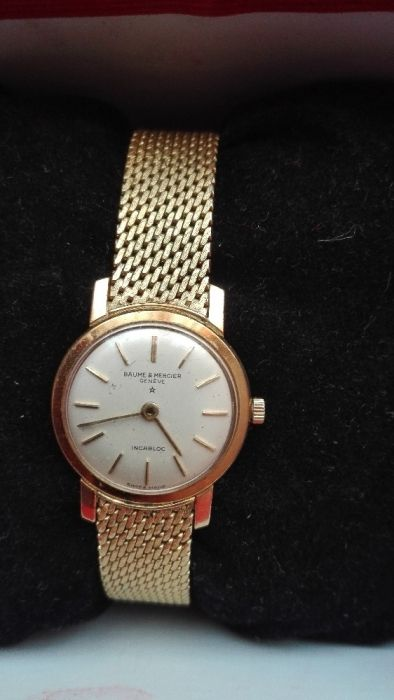 Швейцарски златен часовник 18К/14К