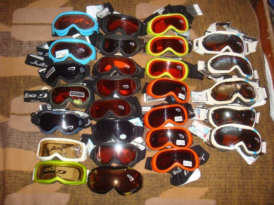 нови очила, маски за ски Julbo и слънчеви очила Sunwise