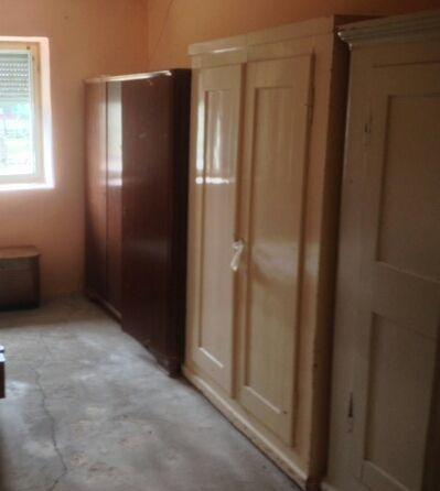 Mobilier lemn masiv rustic,canapea,pat,soba,etc.