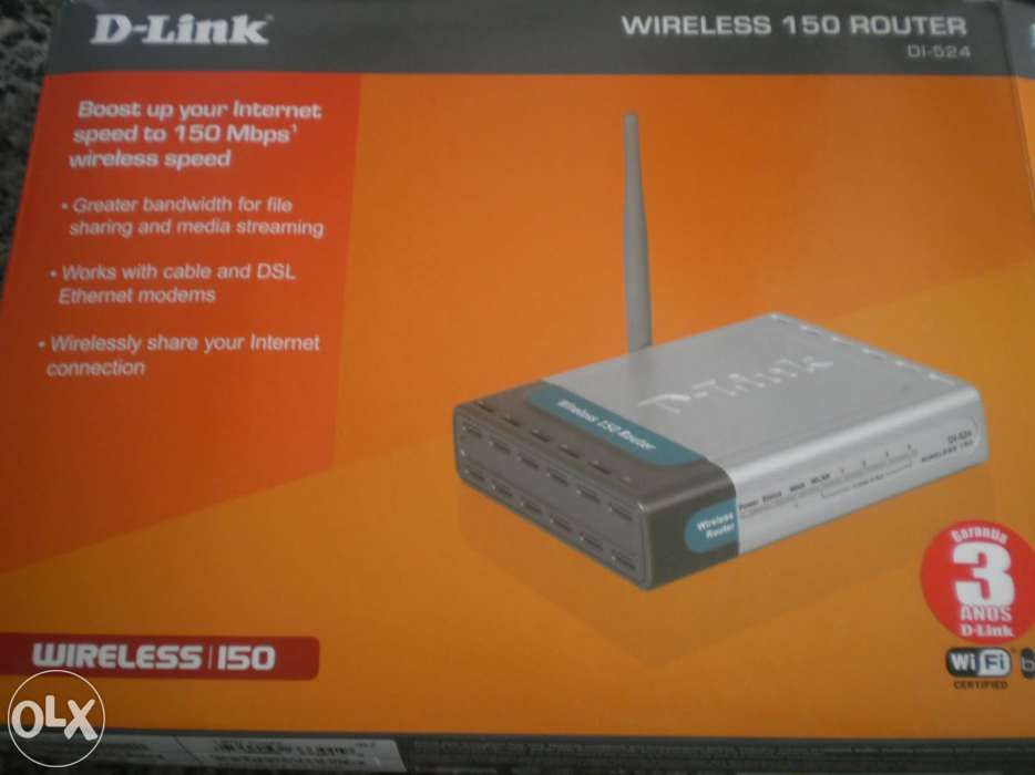 Router Wireless D- Link DI- 524