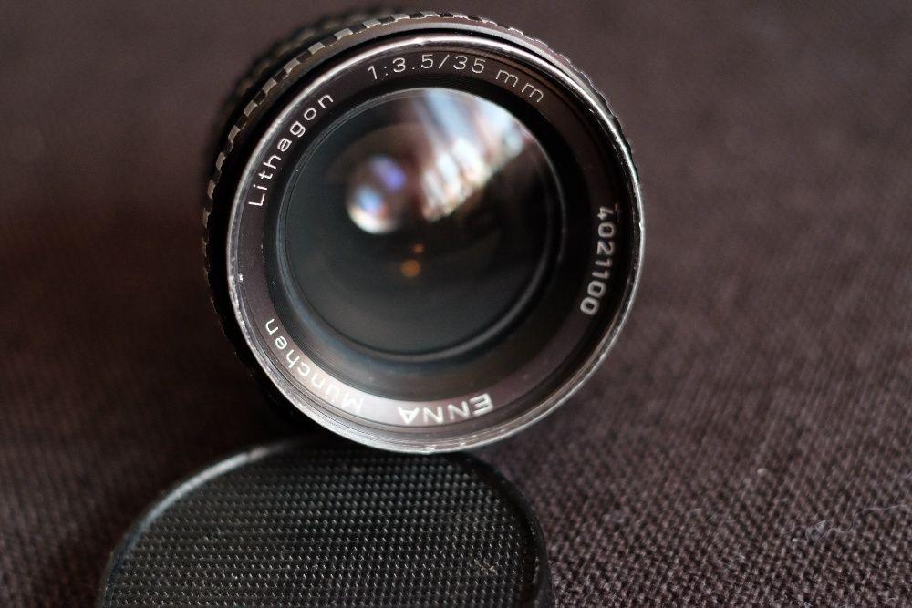 Obiectiv Enna Munchen Lithagon 35mm 3.5 pe montura M42