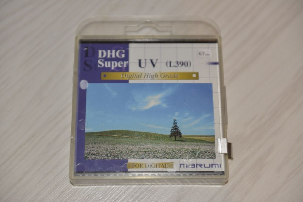 Filtru foto DSLR Marumi DHG Super UV (L390) 67 mm