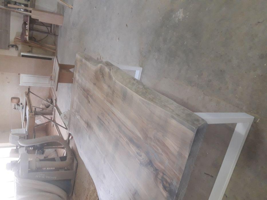 Трапезна маса от дъб(състарена) гр. Троян - image 1
