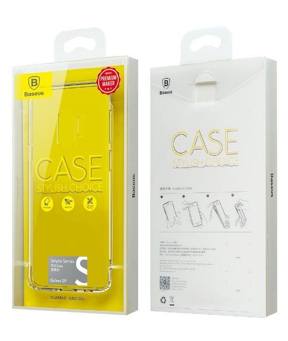 BASEUS силиконов прозрачен кейс Samsung Galaxy S9, S9+, S9 Plus