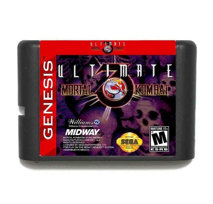 Mortal Kombat 3 Ultimate - Мортал Комбат 3 Ултиматум, Сега - Sega