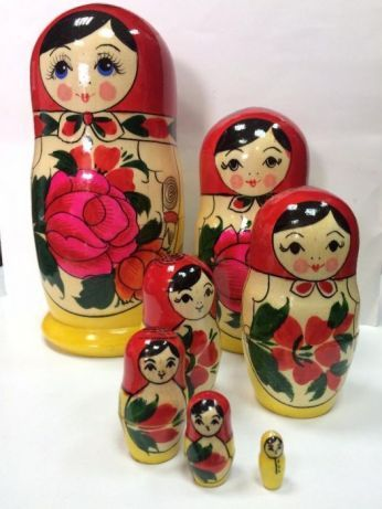 Матрьошка оригинална руска 7 части