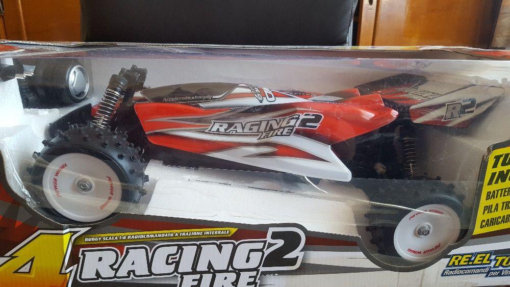 masina radiocomanda RE.EL toys 4x4 racing2 fire scara 1:8