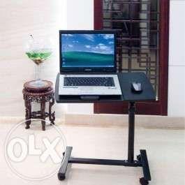 Masa laptop,mini birou cu roti=masuta laptop reglabila pe roti-promo