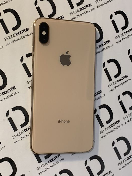 iPhone Xs Max Gold Carcasa originala Swap
