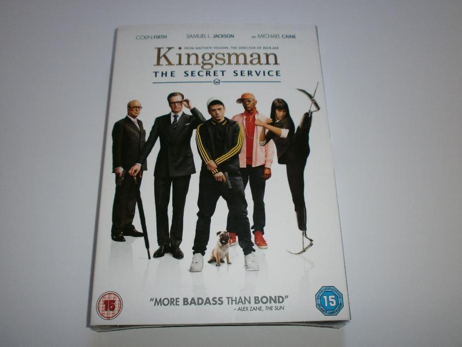 KiNgSmAn : ThE SeCrEt SeRvIcE на DVD