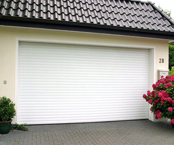 Usi garaj tip rulou, electrica+2 telecomenzi L=3000, H=2500 (77mm)