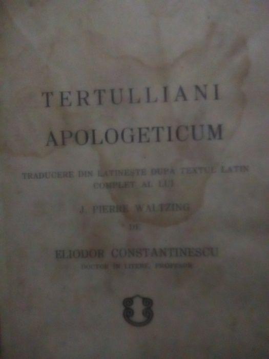 Tertulliani Apologeticum