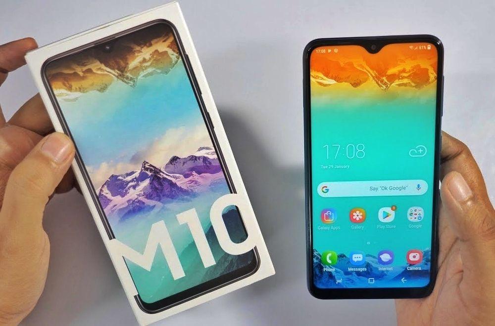 Samsung M10 /novo na caixa.