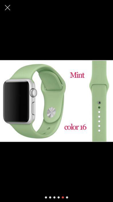 bratara curea apple watch 38 mm( galben si verde ) 42mm ( roz si negru