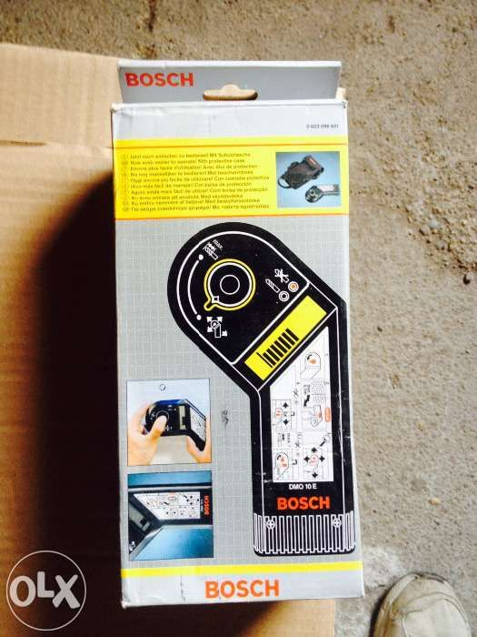 Bosch dmo 10 e detector de fier,otel,cabluri curent,etc(nou)