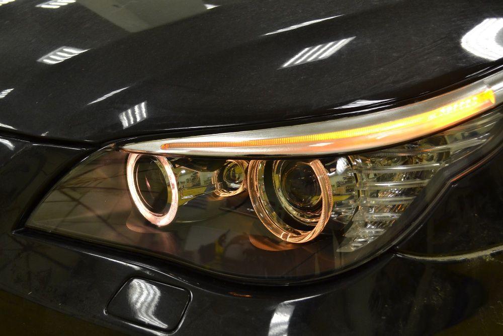 Стекла фар на БМВ е60 е61 BMW e60 e61