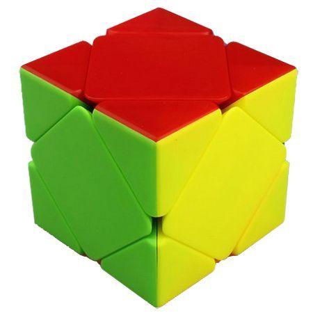 Puzzle Rubik - Skewb Cube Stickerless