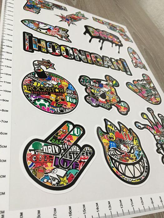 Стикери Sticker Бомб BOMB 13 бр. СУПЕР качествени PVC фолио стике гр. Стара Загора - image 3