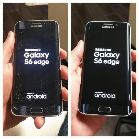 Inlocuire sticla, geam display Samsung Galaxy S7 s8 s9 iphone 5 6 7 Targu-Mures - imagine 1