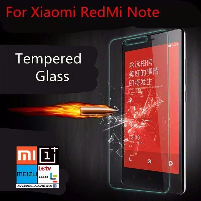 Folie Sticla Xiaomi Redmi Note, Xiaomi Redmi Note 4G.Model 2014.