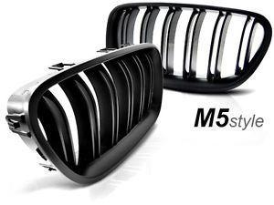 Grile M5 BMW F10 F11 - finisaj negru lucios