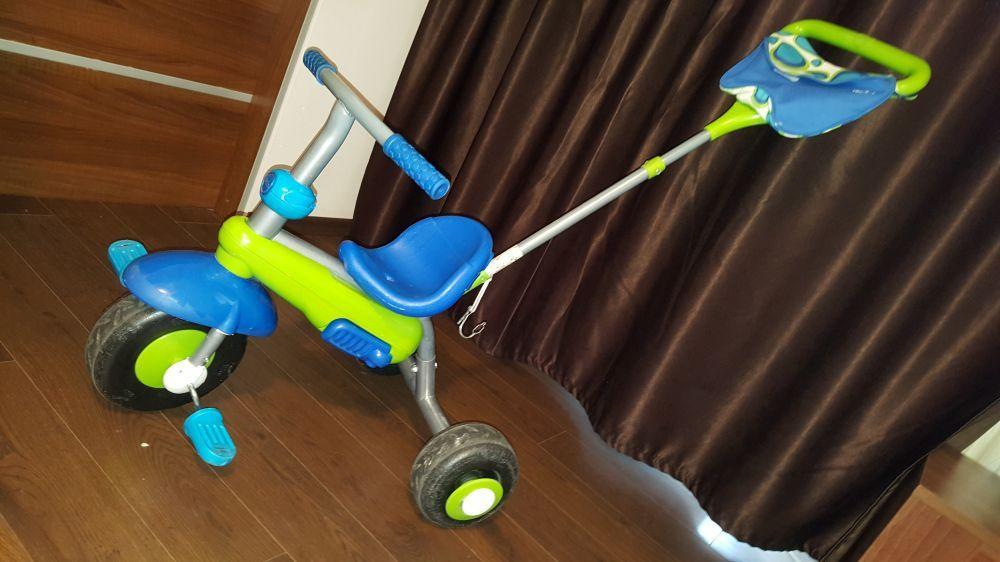 Tricicleta copii Smart Trike Fresh 3 in 1 Albastru si verde