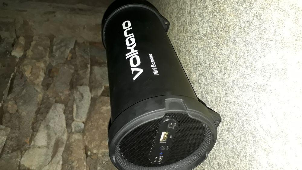 Coluna portátil Bluetooth Volkano Mine Bazooka