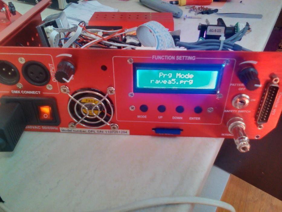 Reparatii lumini disco- lasere, led,service lasere club discoteca