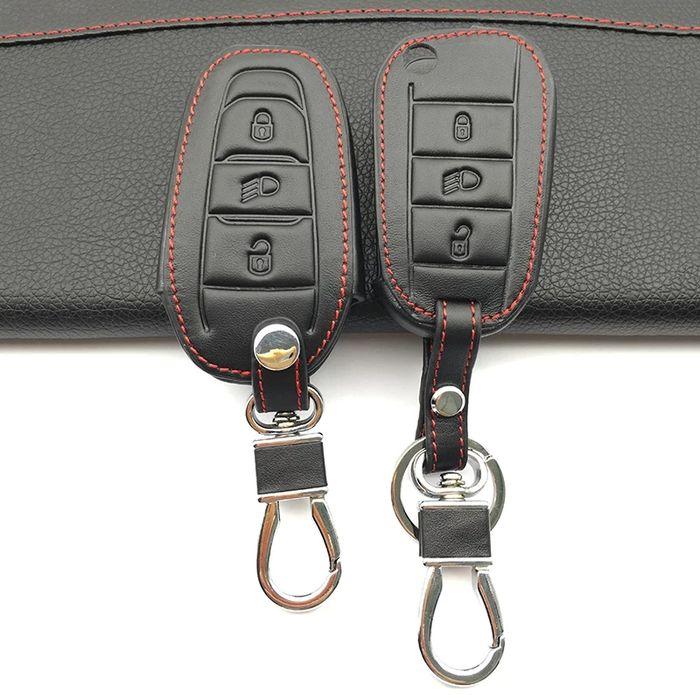 Кожен калъф за ключ Пежо/Peugeot 2008,3008,4008,301,308,408,508,ds3