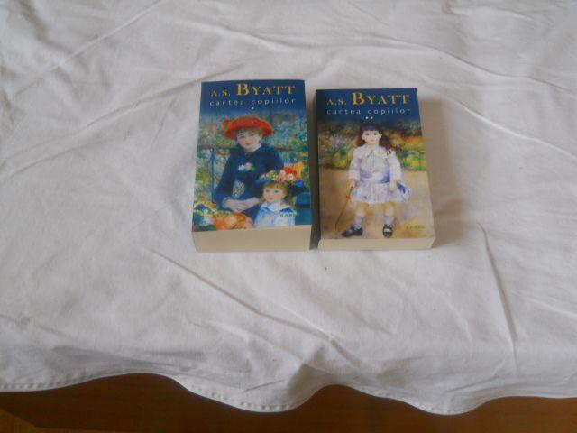 Cartea Copiilor, A. S. Byatt- 2 vol. Carti NOI Baile Herculane - imagine 1