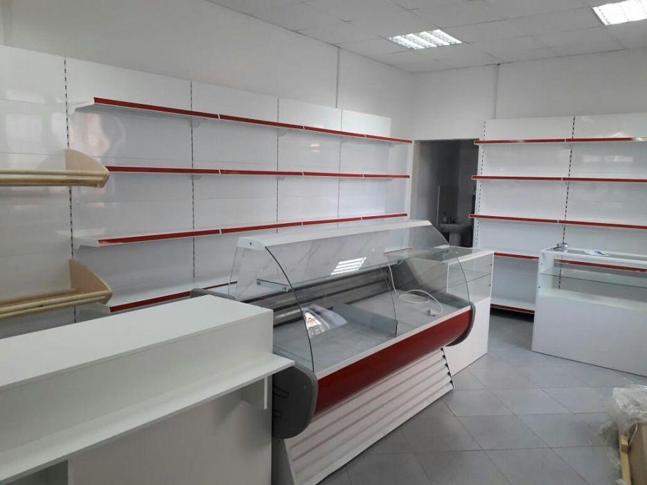 Стеллаж прилавка витрина для магазинов Атырау