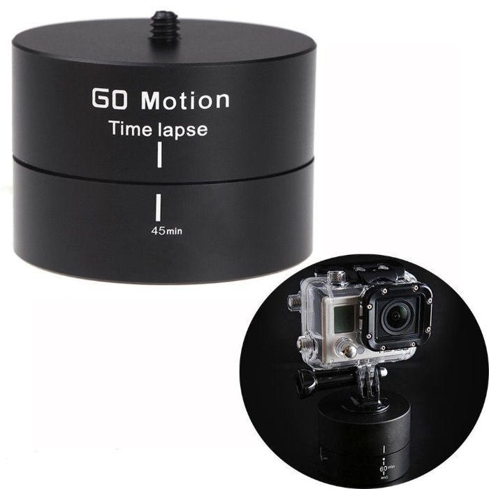 Cap panoramic rotatativ 360 Grade Time Lapse pentru DSLR & GoPro